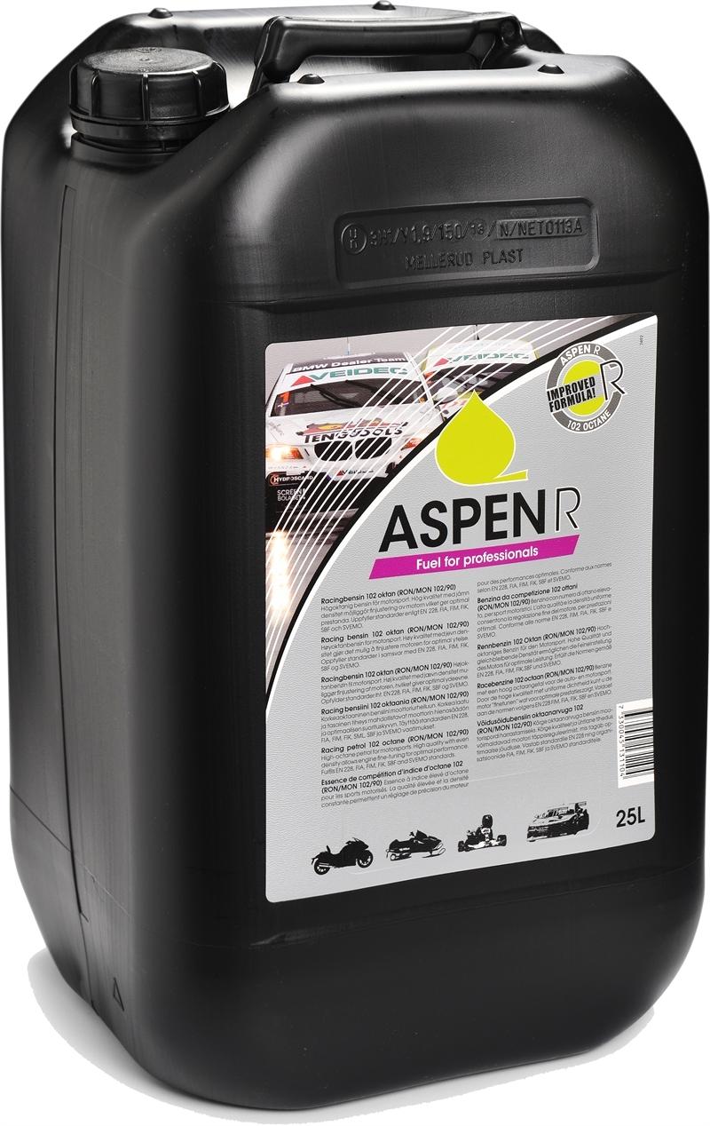 Dejlig ASPEN Race bensin 102 oktan/25 liters dunk, YF-85
